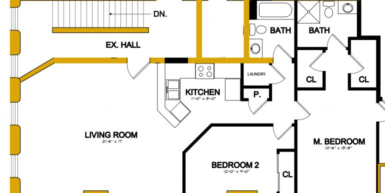 Apartment B floor plan